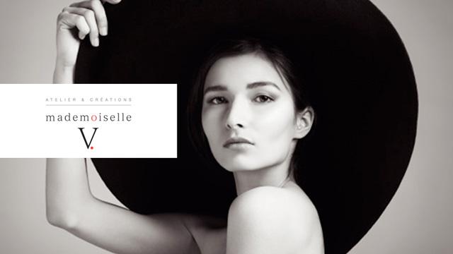 Création du logotype Mademoiselle V
