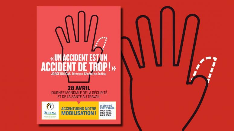 Affiche Journée Mondiale de la sécurité en entreprise