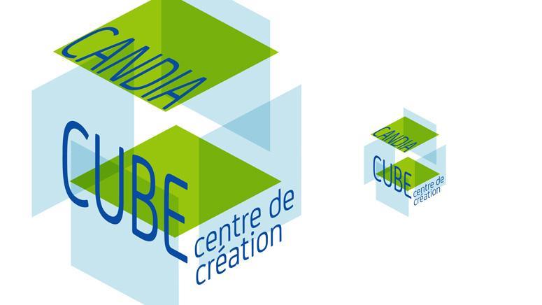 Création du logotype Candia Cube