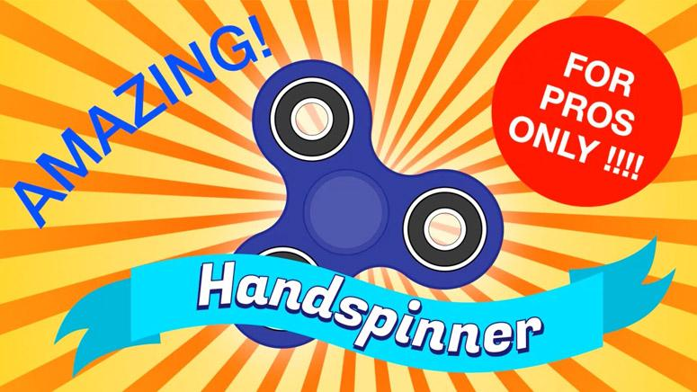 Motion design : le hand spinner