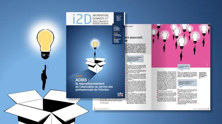 Design graphique et exécution de la revue i2d