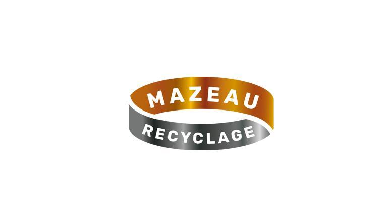 Création du logo Mazeau Recyclage
