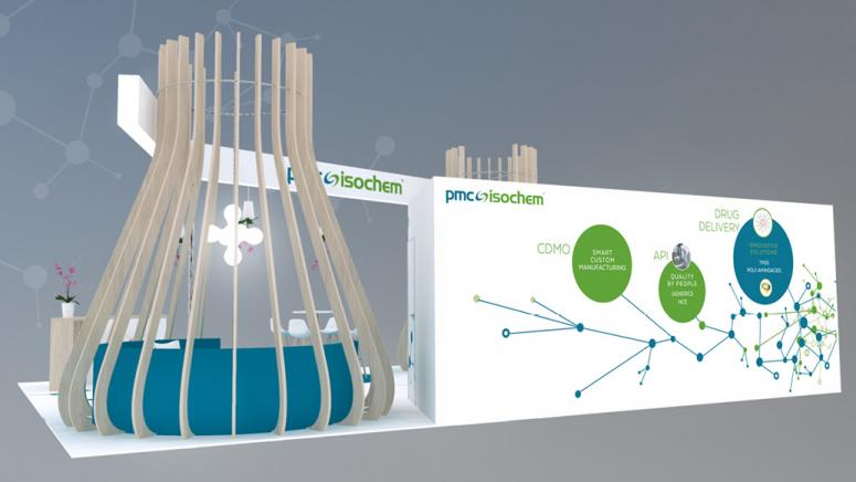 Design graphique du stand PMC ISochem